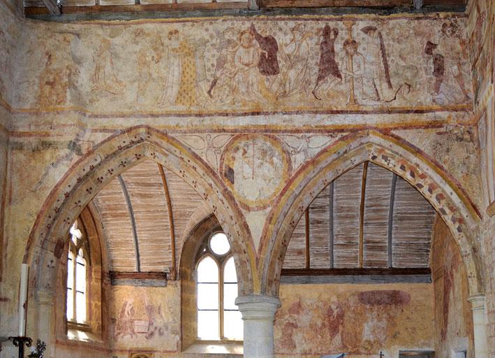 Geraldine fray restauration de tableaux et de peinture for Les differents types de peintures murales