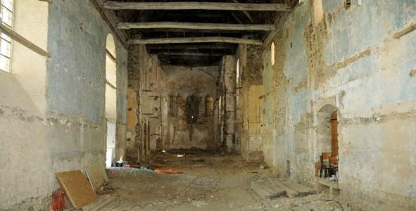 nef-avt-travaux-591x300 Chapelle du château – Châteaugiron (35)